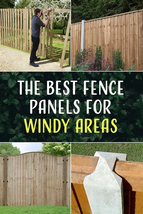 fence panels    windy areas fence