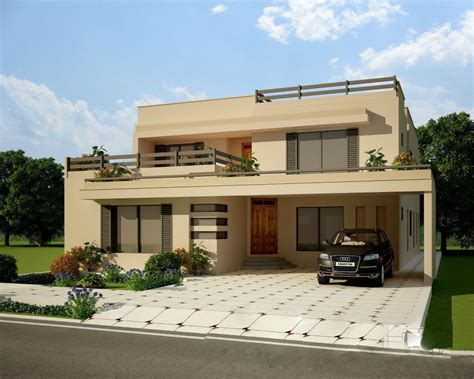 Small House Designs In Karachi Exterior House Design Front Elevation Mi Futura Casa