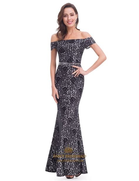 the beaded dresses floral the shoulder mermaid dress with