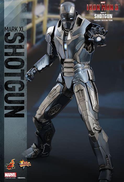 film action xl hot toys mms309 iron man 3 mark xl 40 shotgun