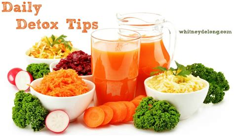 Detoxing Tips by Daily Detox Tips For The New Year Delong