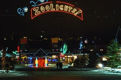 Zoolights Hogle Zoo Holiday Displays On Waymarking Com Utah Zoo Lights