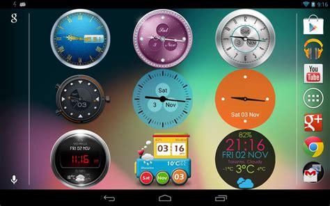 android clock widget beautiful clock widgets android apps on play