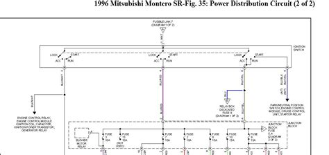 1996 mitsubishi montero ignition diagram mitsubishi auto