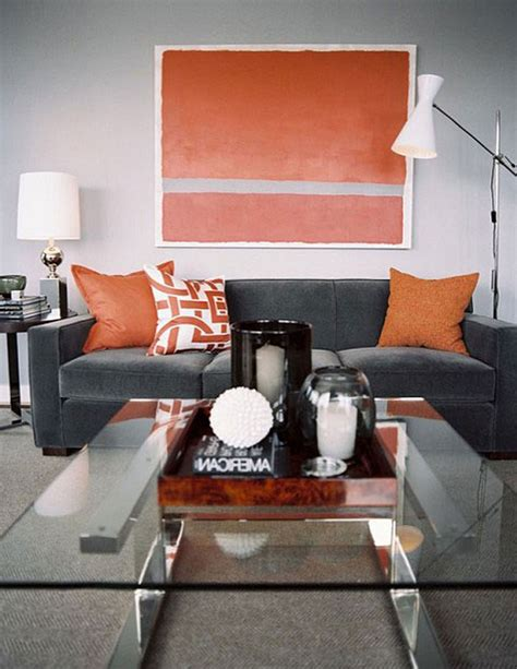 decorations for living rooms amazing of cool living room ideas grey and orange from gr
