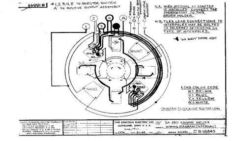 sa 200 lincoln welder wiring diagram lincoln sa 200