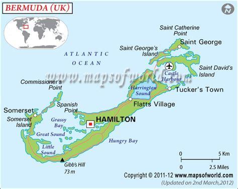 map us bermuda bermuda map maps