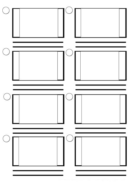 storyboard templates for pages free coloring pages of storyboard template