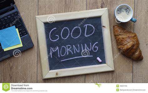 good morning breakfast stock photo image