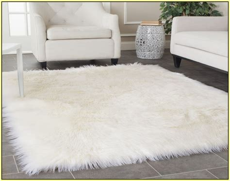 Faux Fur Area Rug Faux Fur Carpet Canada Carpet Vidalondon