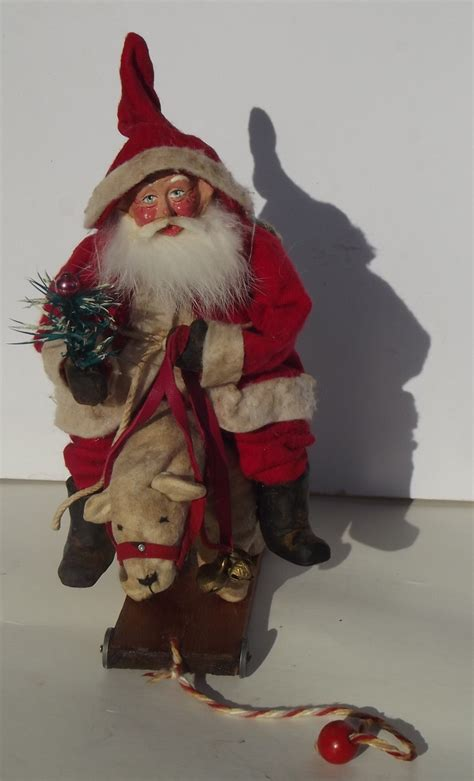 Handcrafted Santa Claus - 1000 images about santa claus dolls on