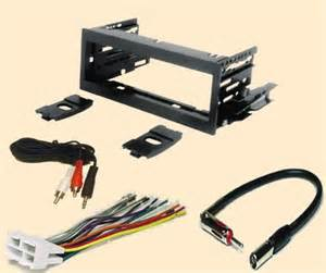 cadillac escalade 1999 2000 2001 2002 stereo wiring harness dash install kit faceplate with