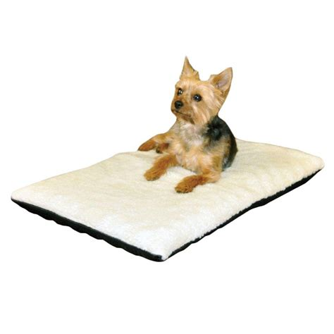heated dog beds k h pet products ortho thermo medium cream non slip heated