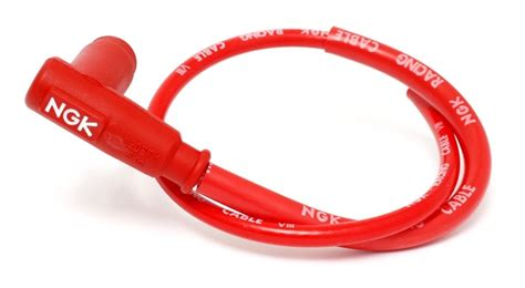 candele racing ngk cr4 racing wire and boot cap end