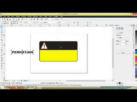 cara membuat stiker line dengan coreldraw cara membuat stiker dengan corel draw youtube
