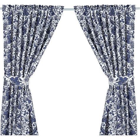 ikea blue and white curtains ikea emmie kvist curtains with tie backs 1 pair blue