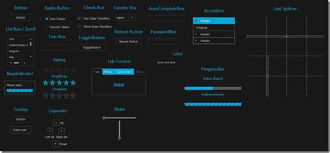 infragistics themes for microsoft controls free metro light and dark themes for wpf and silverlight
