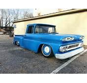 1961 Bagged Chevrolet Apache C10 V8 Air Ride Rat Rod Hot Truck