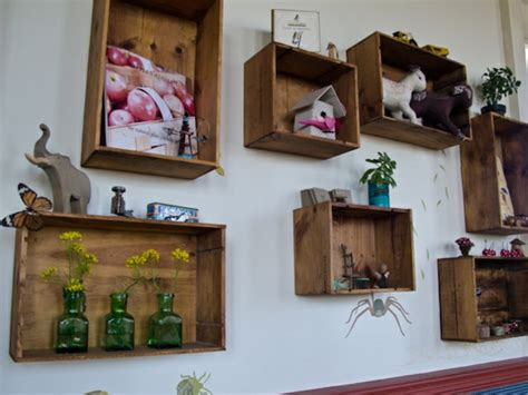 preiswerte badezimmer dekorieren ideen 18 ideen f 252 r eine obstkisten regal originell und