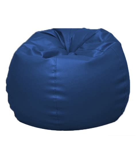 pebbleyard classic blue bean bag cover without beans