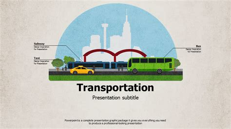 powerpoint templates transportation transportation ppt template wide goodpello