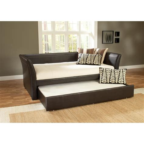 hillsdale furniture springfield brown trundle day bed hillsdale furniture malibu brown trundle day bed 1519dbt
