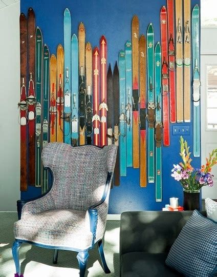 ski home decor 5 unique ideas for wall art that are gorgeous too