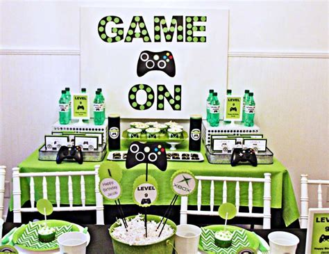 themes and games xbox birthday quot jacob s xbox birthday quot catch my party