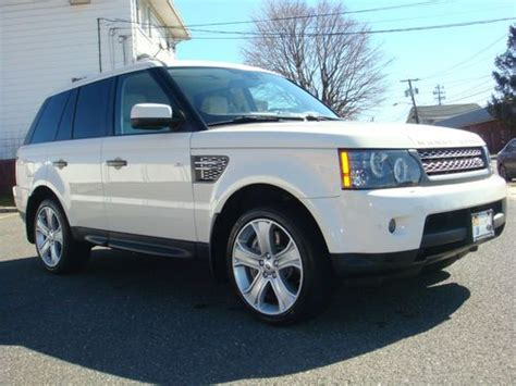 used land rover range rover sport cars for sale in new