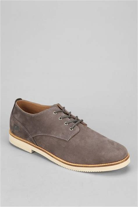 mens grey oxford shoes outfitters oxford shoe in gray for grey lyst