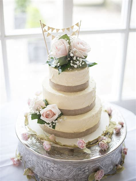 Vintage Wedding Cakes by Wedding Cakes The Cakery Leamington Spa