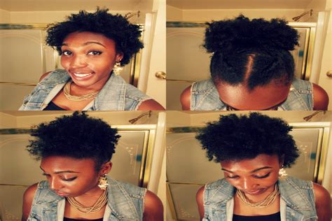 easy hairstyles for very short natural hair 4 best short to medium hairstyles cute natural hair styles