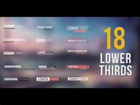 free lower third templates motion free lower third templates motion free template