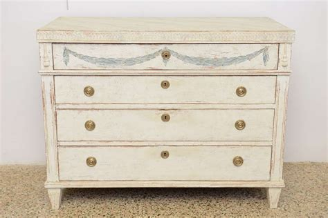 Painted Antique Dressers by Antique Swedish Gustavian Painted Dresser Late 18th C At