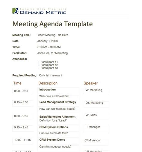 meeting schedule template excel easily create filters the meeting