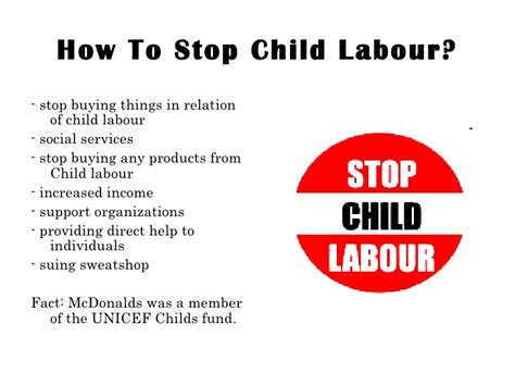 How Of Child Labour