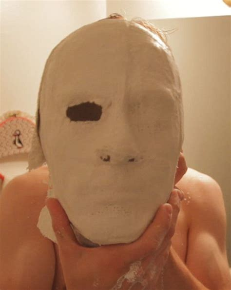 How Do You Make A Mask Out Of Paper - mask part 1 mold and clay sculpt
