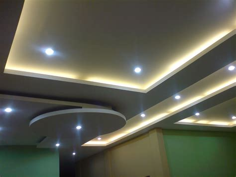 model  tipe plafon drop ceiling gypsum kayu minimalis