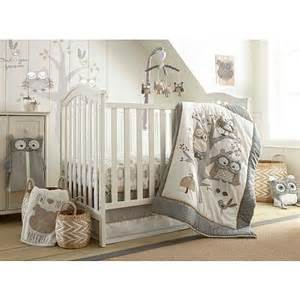 newborn comforter levtex baby night owl 5 piece crib bedding set babies r