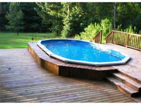 bloombety above ground pool design ideas with lawn above ground pool design ideas