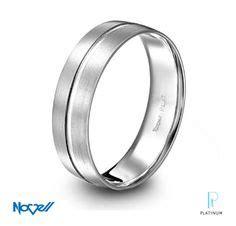 novell design studio platinum ring with square parallel