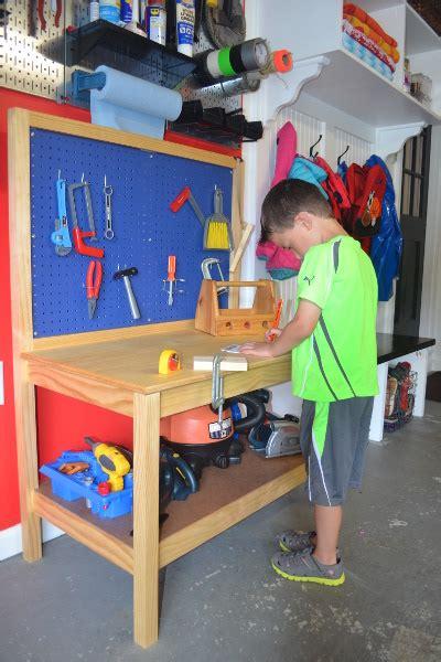 diy kids workbench  step  step build plans copewood