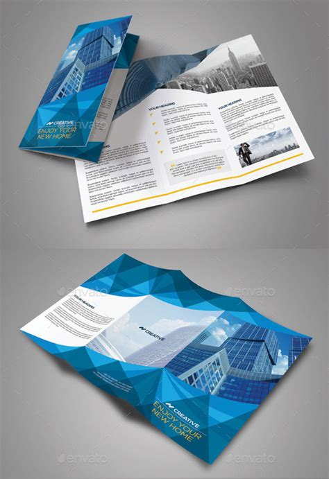 tri fold brochure template free indesign 30 eye catching psd indesign brochure templates web