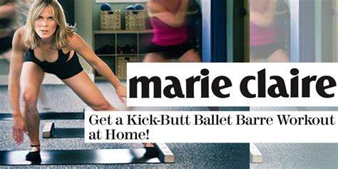 get a kick ballet barre workout at home