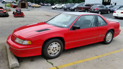 old car manuals online 1994 chevrolet lumina security system 1992 chevy lumina z34 red classic chevrolet lumina 19920000 for sale