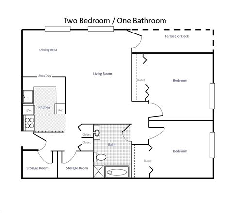 2 bedroom 1 bath floor plans floor plans woodland apartments