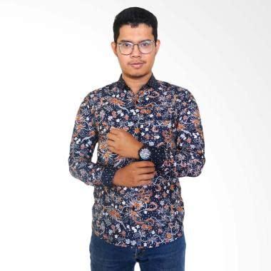 Kemeja Hem Batik Pria Lengan Panjang 86 jual batik lengan panjang pria terbaru harga murah