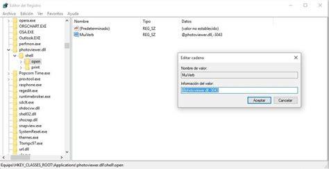 visor imagenes para windows 10 como traer de vuelta el visualizador de fotos en windows 10