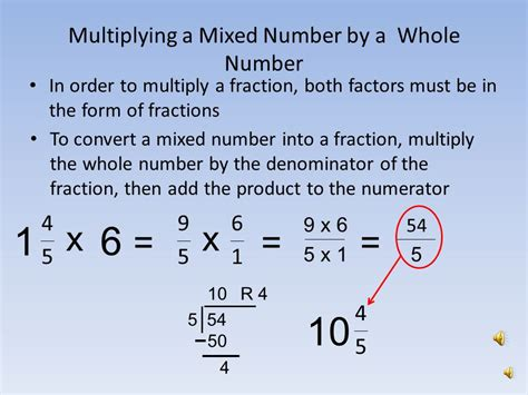 Multiplying Fractions And Whole Numbers Worksheets With Answers by Multiplying A Whole Number By A Mixed Number