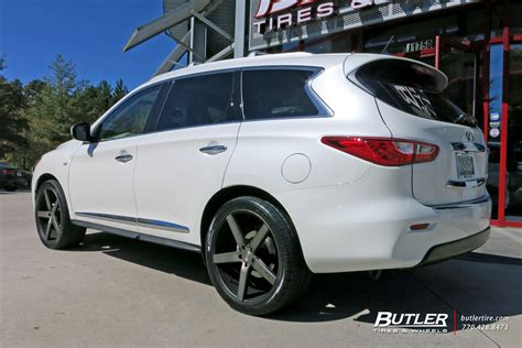 infiniti qx60 rims infiniti qx60 with 22in niche milan wheels exclusively